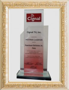 Postpaid Champion Award