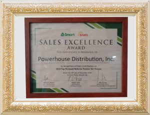 Sales Excellence Award